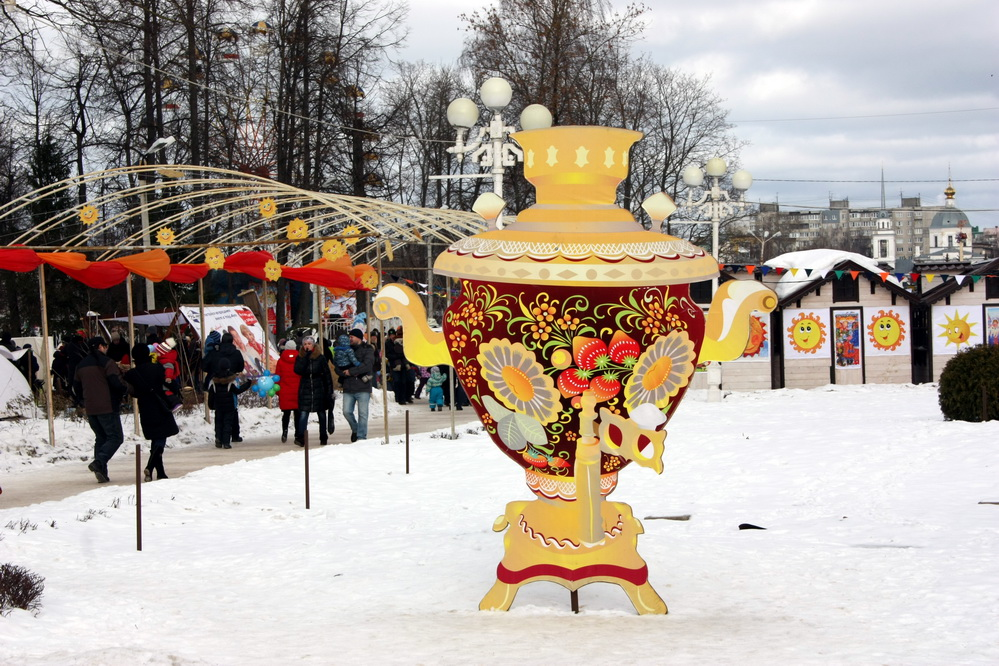 """On Sunday, February 18, in the City Garden there will be folk festivals """"Wide Tver Maslenitsa"""""""