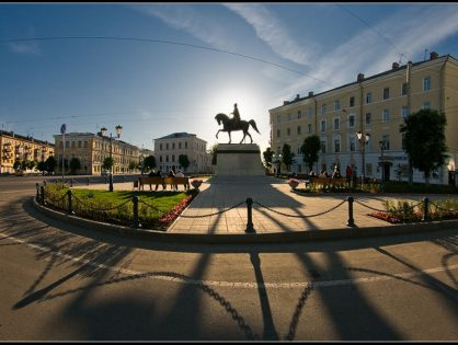 Tver entered the top 10 popular cities for booking tourists holiday on March 8