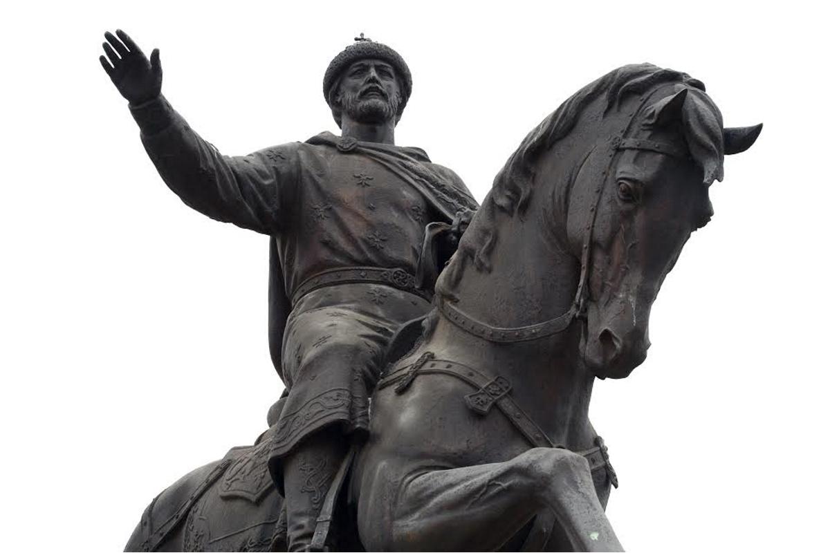 5 декабря 2018 в горсаду - день памяти святого благоверного князя Михаила Тверского.