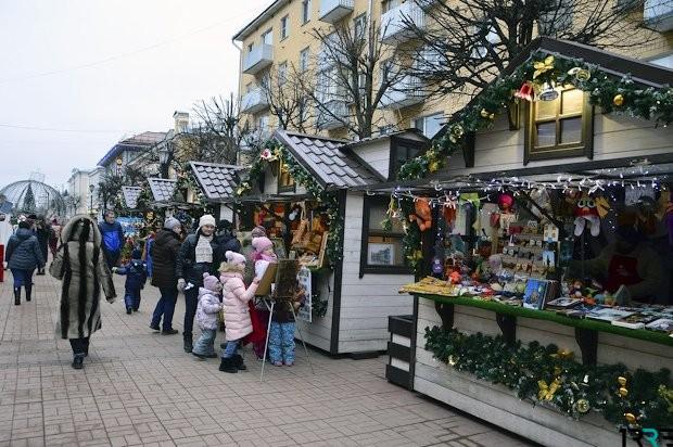 c 15 декабря 2018 года  по 7 января 2019  года - Рождественская ярмарка